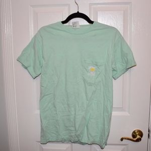 Salty Dog Cafe Mint Pocket Tee